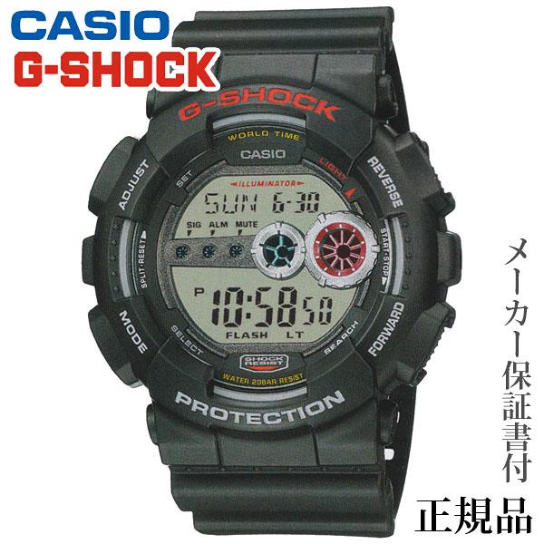 卒業 入学 CASIO カシオ G-SHOCK GD-100 Series 男性用 クオーツ デジタル 腕時計 正規品 1年保証書付 GD-100-1AJF