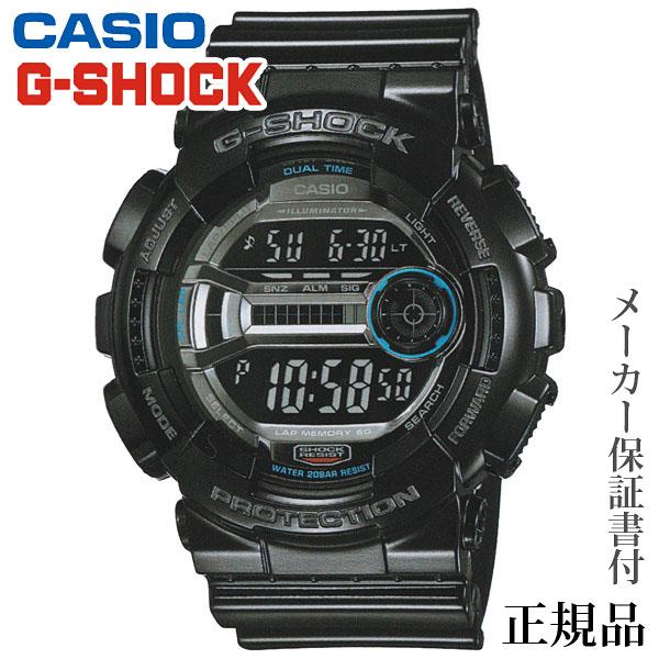 卒業 入学 CASIO カシオ G-SHOCK L-SPEC 男性用 クオーツ デジタル 腕時計 正規品 1年保証書付 GD-110-1JF