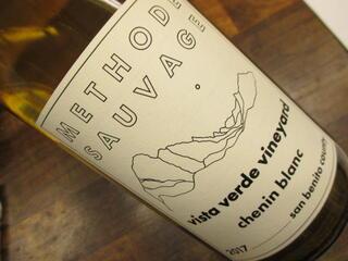 ナチュラルワイン ヴィスタ・ヴェルデ・ヴィンヤード・シュナンブラン メトード・ソヴァージュ (白) 2017 Vista verde vinyard Chenin Blanc Methode Sauvage