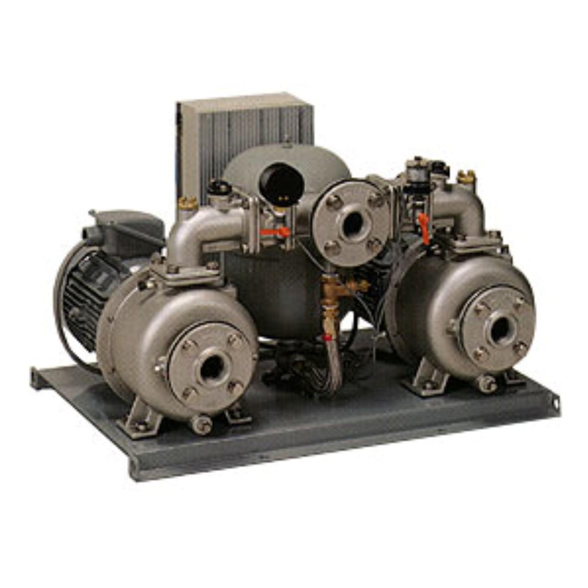 送料無料でお届けします 川本ポンプ KB2-656PE3.7 ポンパーKB2形 60Hz 割引も実施中 定圧給水 交互並列運転