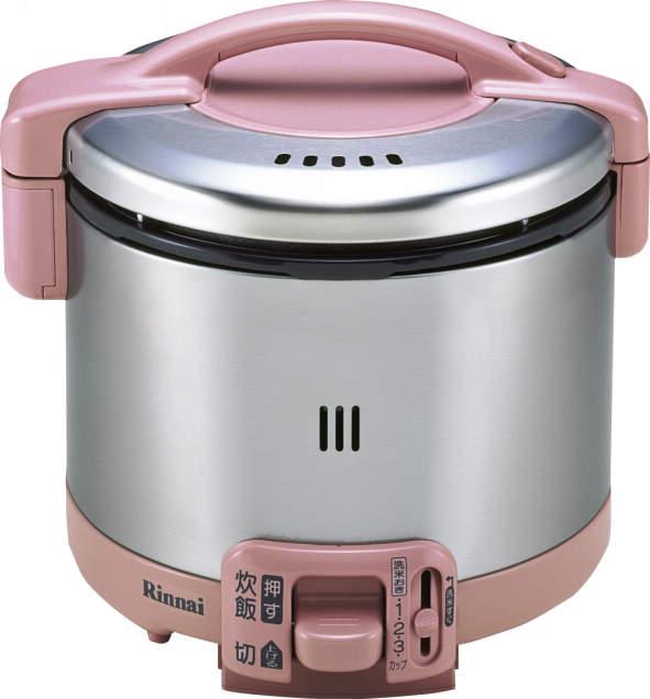 リンナイ ガス炊飯器(プロパンガス用)【こがまる】5.5合 ローズピンク RR-055GS-D(RP)-LP