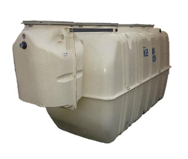 クボタ KZ-7(D) 放流ポンプ槽付合併浄化槽【7人槽】嵩上げ付・ブロワー付属