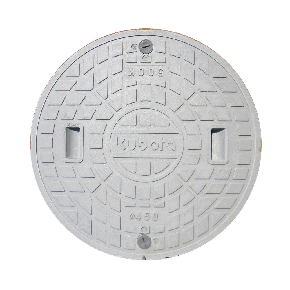 クボタ 純正浄化槽用フタΦ450mmマンホール蓋