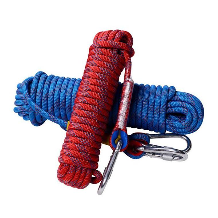7色 選べる 多機能ロープ  多目的ロープ 多用途ロープ 多機能ロープ 園芸ロープ 洗濯ロープ 12mm 耐荷重1200kg 20M CE認証 7色 収納袋セット 防水性 頑丈 アウトドア