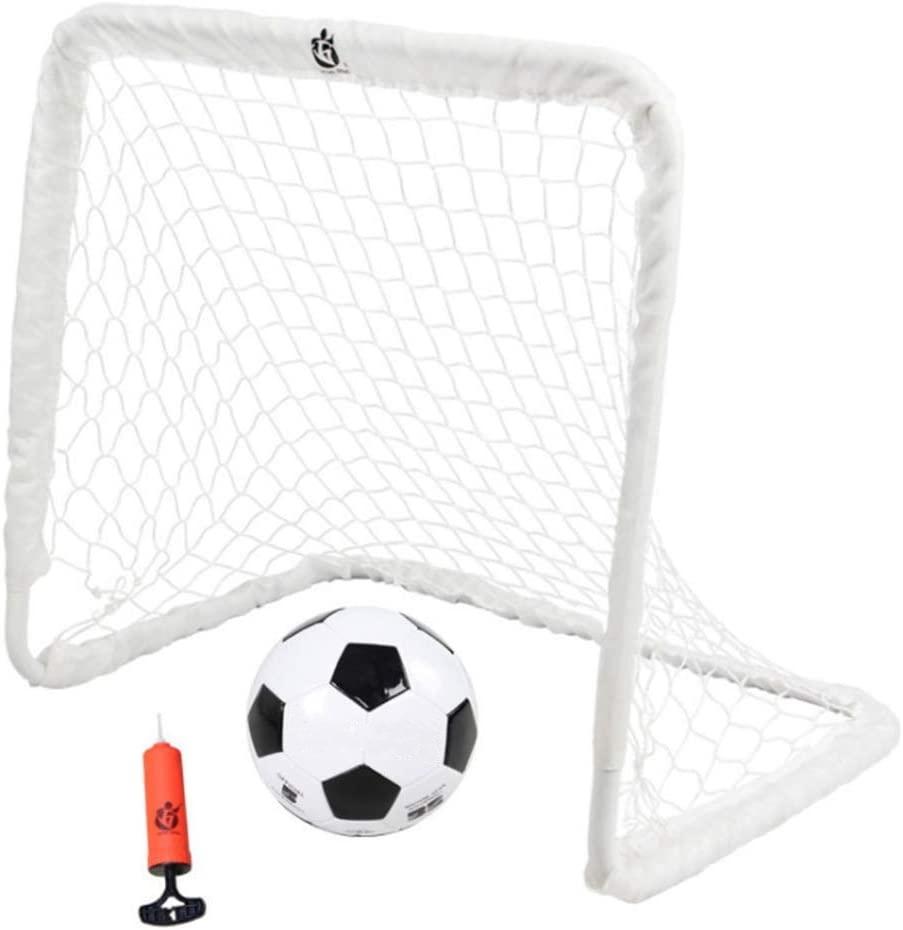 サッカーゴール 折りたたみ 定番スタイル 室内 室外 子供用 10%OFF 大人用 ポップアップネットとサッカーアクセサリーで インストールが簡 屋外の庭の子供のサッカーゴール 鋼管サポートを安定させ