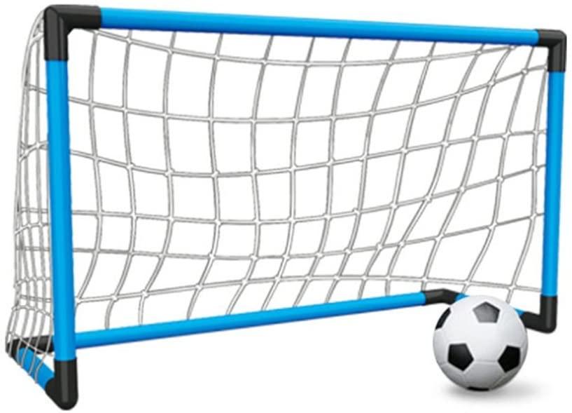 サッカーゴール サッカーボール 子供 サッカー 練習 卓越 室内 組み立て 屋外用 ネット付き 空気入れ 超特価SALE開催 3サイズゴール選べる 簡易ゴール