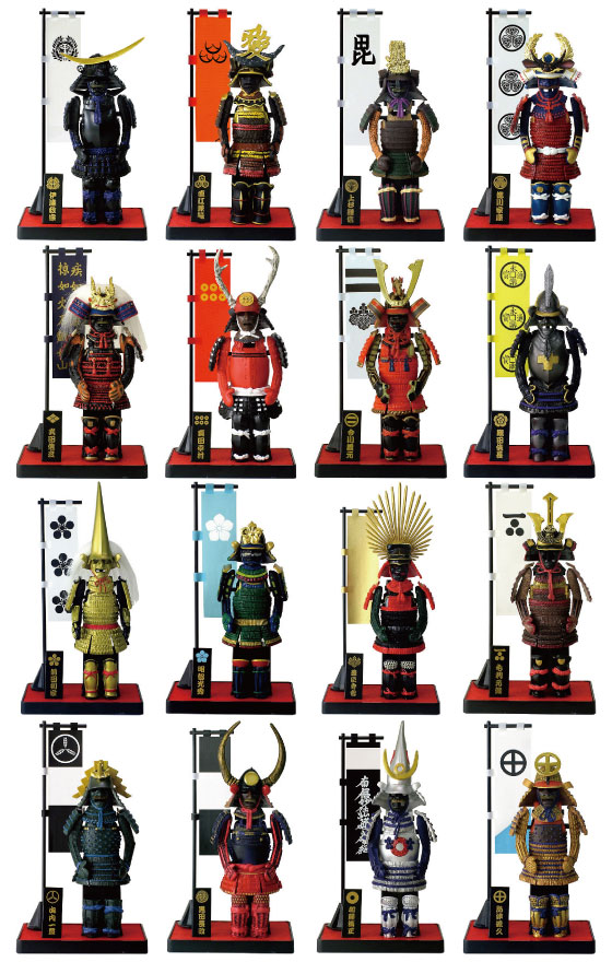 Samurai figure - ARMOR + 1 body in the amount of SERIES-B type ★ 5-gift set ★ ★ * international shipping if the additional required shipping ★