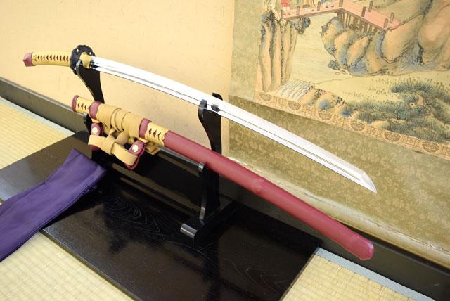 名刀伝 天下五剣「大典太光世」太刀 最高級仕様 (刀袋付き)【送料無料】 日本刀