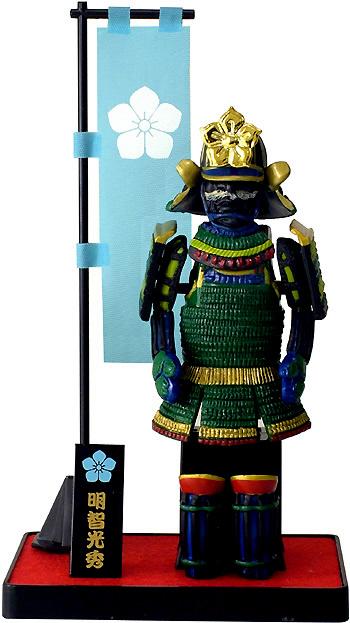 怪异明知 Mitsuhide 武士武士盔甲系列 B 类型图正宗本能寺的建筑是!