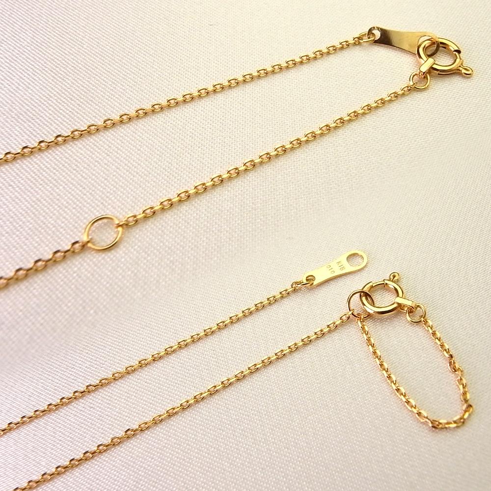 ネックレス>ダイヤモンドネックレス>K18 一粒ダイヤモンドネックレス アンシャンテ 0.3ct