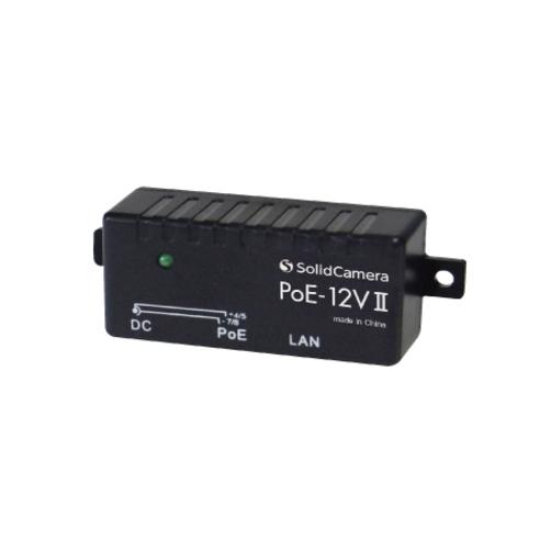 【定形外無料】 Viewla PoE給電アダプタ PoE-12VII ソリッドカメラ PoE給電 POE SoridCamera LAN LAN給電 防犯カメラ 電源供給 POE【S】