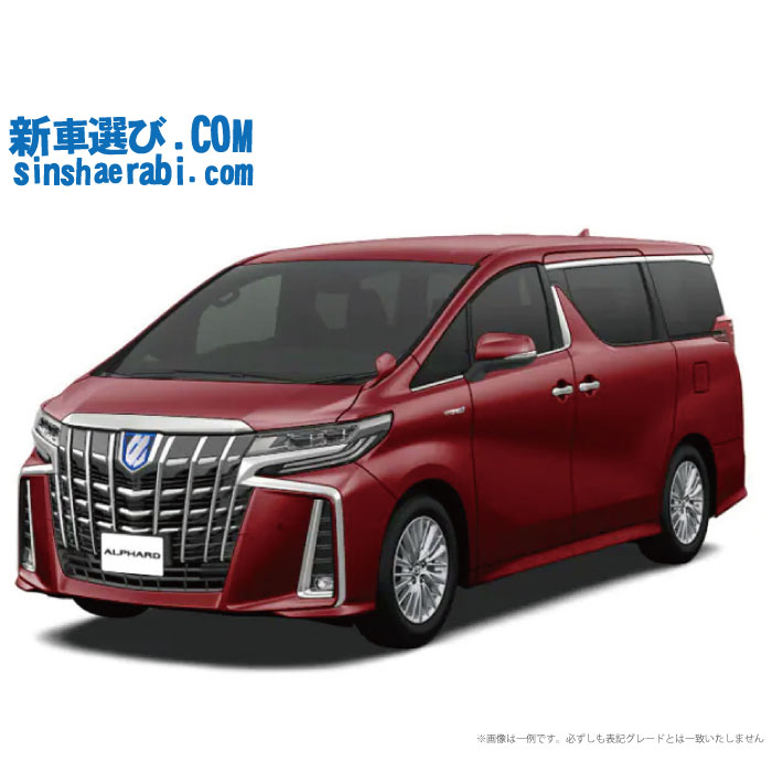 ☆月額 77,500円 楽乗りCAR 新車 トヨタ アルファード 4WD 3500 Executive Lounge S 7人乗り
