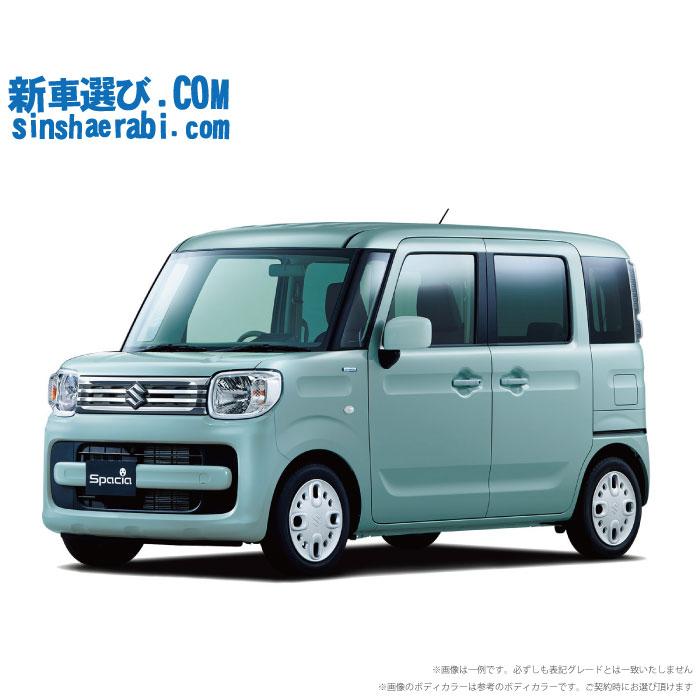 ☆月額 17,400円 楽乗りCAR 新車 スズキ スペーシア 4WD 660 HYBRID G