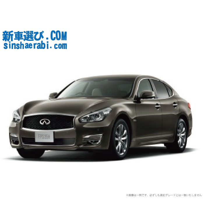 ☆月額52,800円 楽乗りCAR 新車 ニッサン フーガ 2WD 3500 HYBRID Aパッケージ