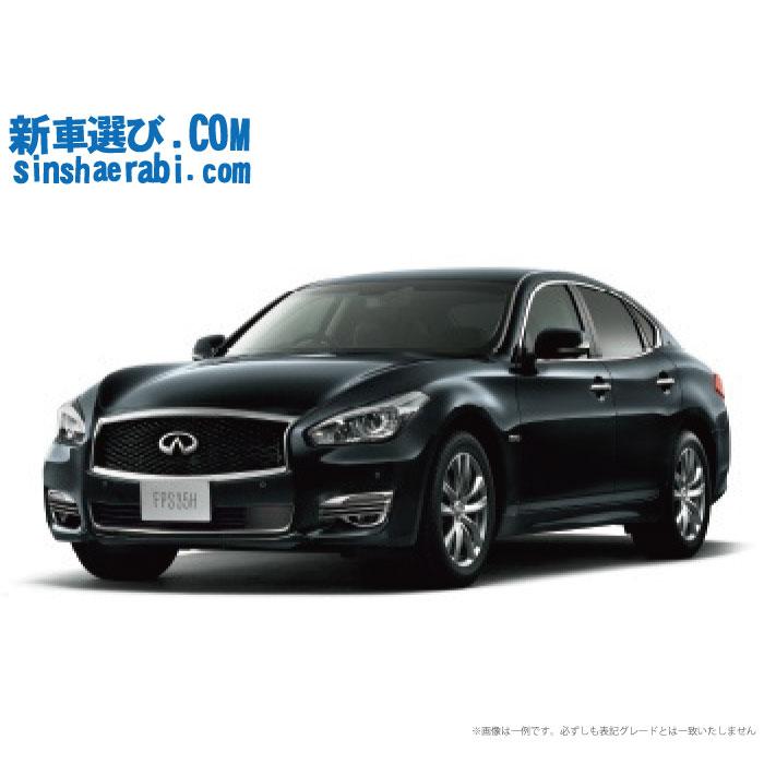 ☆月額67,500円 楽乗りCAR 新車 ニッサン フーガ  2WD 3500  HYBRID VIP