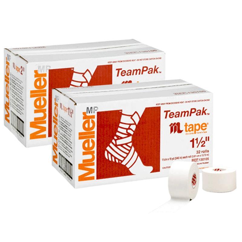 テーピングテープ / ホワイトプロテープ / チームパック / 幅や長さのサイズが選べる / アスレチックテープ / テーピング / 固定用 / Mueller