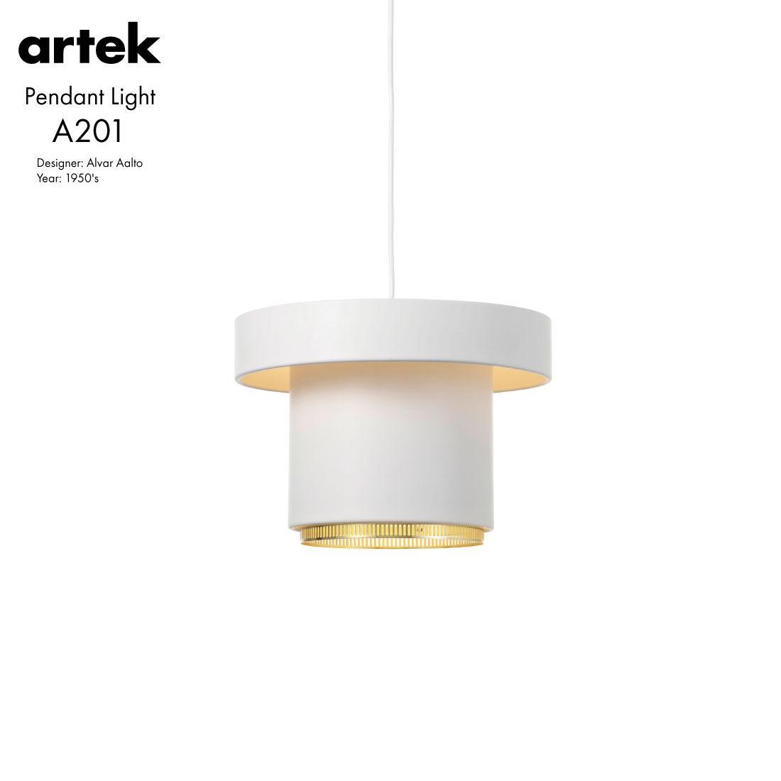 【artek/アルテック】Pendant Light A201Alvar Aalto/アルヴァ・アアルト/北欧/ペンダントランプ/照明/ライティング/