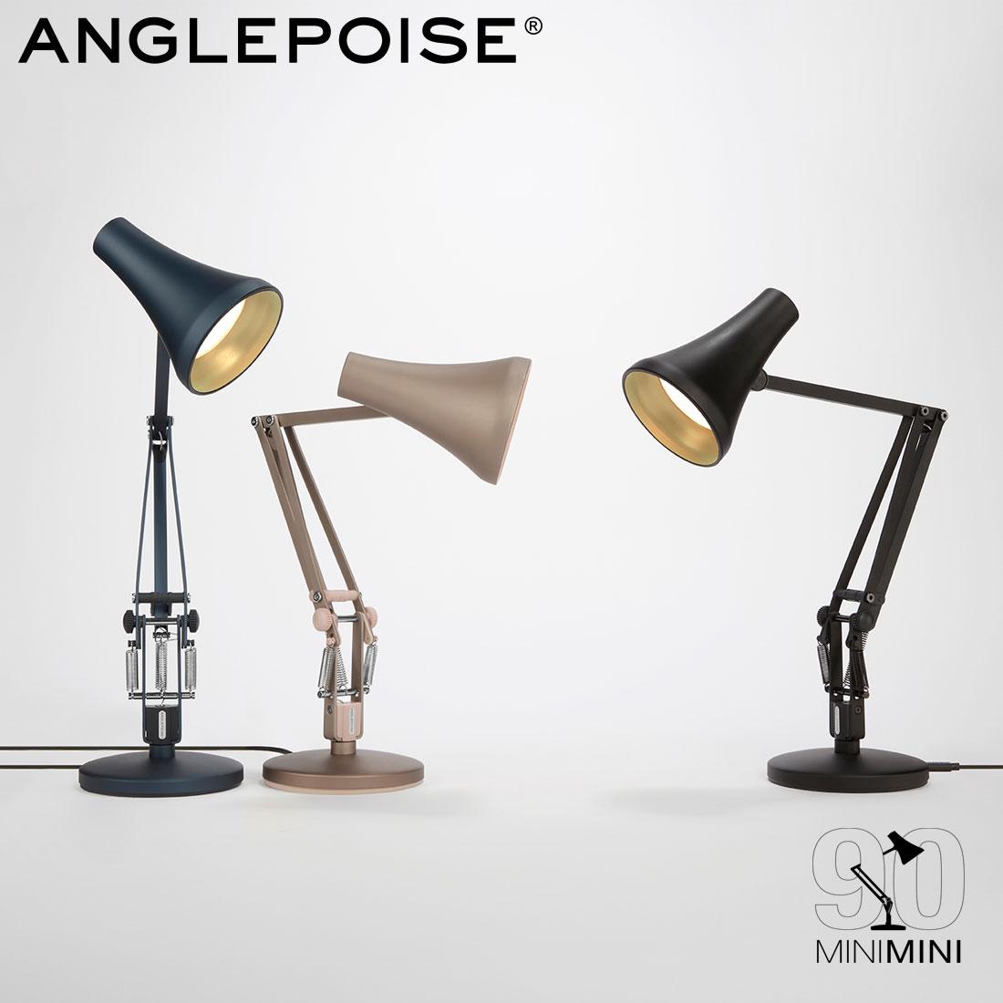 【ANGLEPOISE/アングルポイズ】90 MINI MINI / デスクランプイギリス / アームランプ / ワークランプ / タスクランプ LED / USB / Sir Kenneth Grange【クーポン利用不可】