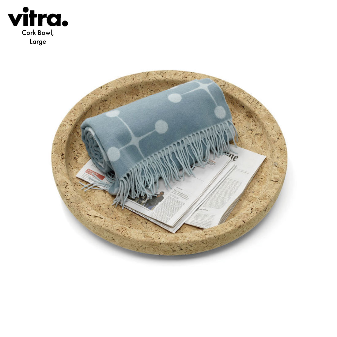 【Vitra/ヴィトラ】Cork Bowl,Large/コルクボウル/ラージ/コルク/オブジェ/収納/インテリア/ジャスパー・モリソン/Jasper Morrison/