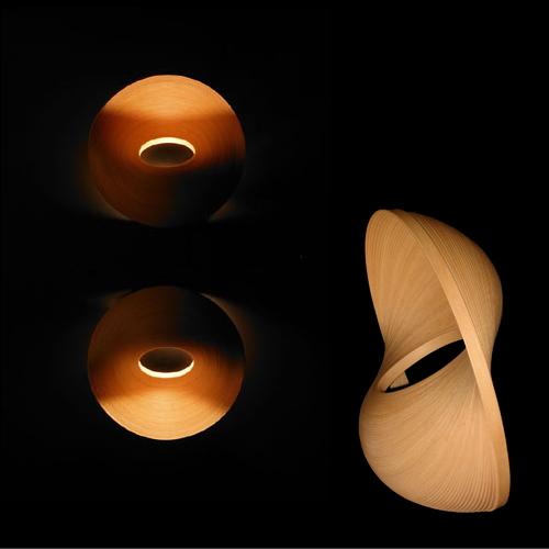 【BUNACO/ブナコ】ブラケット照明 BL-B493 LAMP E17/Φ300×H125 /2005 あおもり産業デザイン賞大賞受賞 ランプ