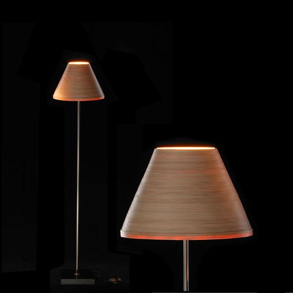 店舗クーポン発行中!【BUNACO/ブナコ】フロアーランプ照明 Floor Lamp BL-F481 ランプ/木工品/伝統/手作り/日本製