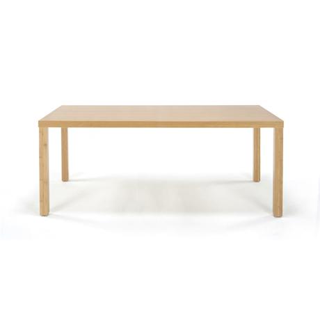 【TEORI テオリ】Kダイニングテーブル角脚 TD-K1585 W1500×D850×H700mm 竹無垢 日本製/岡山/テーブル/ダイニング/