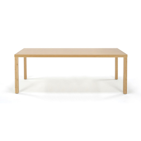 【TEORI テオリ】Kダイニングテーブル 角脚 TD-K1885 W1800×D850×H700mm 竹無垢 日本製/岡山/ダイニング/テーブル