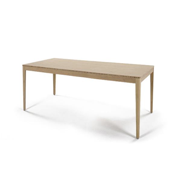 【TEORI テオリ】F-ダイニングテーブル TF-DT1885 W1800×D850×H700mm 竹無垢 日本製/岡山シンプルかつスタイリッシュに /テーブル/ダイニング