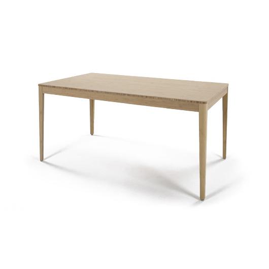 【TEORI テオリ】F-ダイニングテーブル TF-DT1585 W1500×D850×H700mm 竹無垢 日本製/岡山シンプルかつスタイリッシュに  テーブル