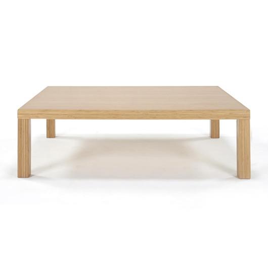 リビングテーブル角脚 TL-K985 W900【美しい竹の家具TEORI テオリ】竹無垢 日本製/岡山