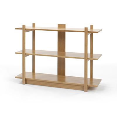 【TEORI テオリ】オープンシェルフ3段 TS-123 W1200【美しい竹の家具TEORI テオリ】リンビング ダイニング オープンシェルフ 竹無垢 日本製/岡山