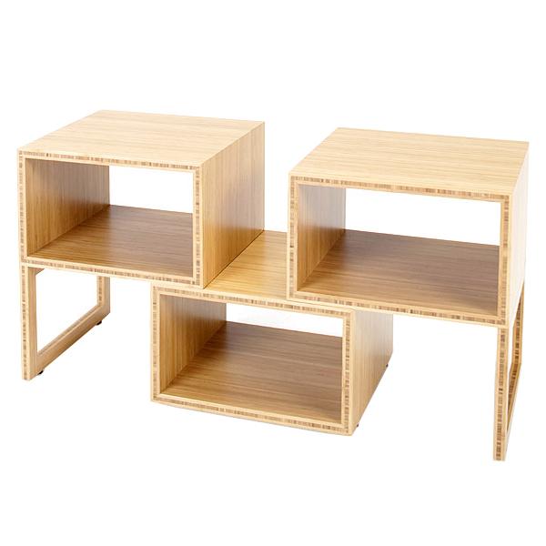 BOXシェルフ TL-BS【美しい竹の家具TEORI テオリ】竹無垢 日本製/岡山