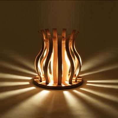 TL-SU TEORI Suiren スイレン テオリ代表作 睡蓮をイメージしたデザインランプ  【美しい竹の家具TEORI】 竹無垢 日本製/岡山