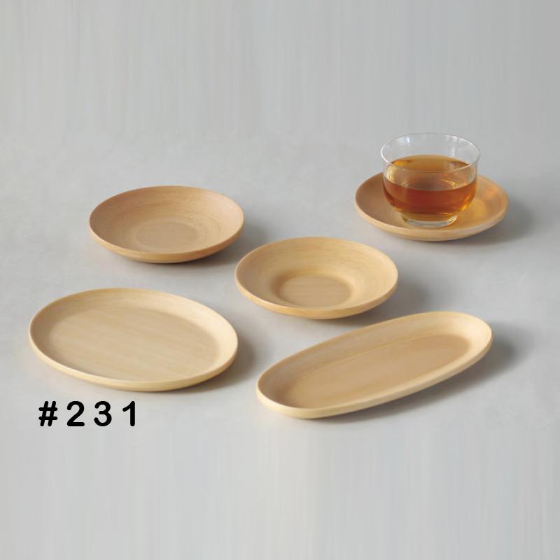 【6個セット】ブナコのテーブルウェア BUNACO TABLEWARE PLATE#231【コンビニ受取対応商品】