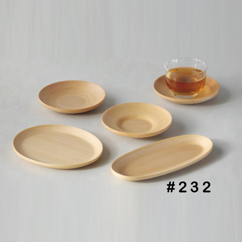 【6個セット】ブナコのテーブルウェア BUNACO TABLEWARE PLATE#232 コンビニ受取対応