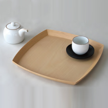 【BUNACO/ブナコ】テーブルウェア TABLEWARE TRAY#219ナチュラル/お盆/トレー/木工品/受注生産品