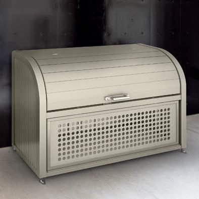 ゴミストッカー 四国化成 GPSR-1212-07SC 間口:120cm/奥行:70cm ゴミストッカー上開き+取外し式 PSR型ゴミ箱/トラッシュ/ストレージ/ビル/マンション/公園/