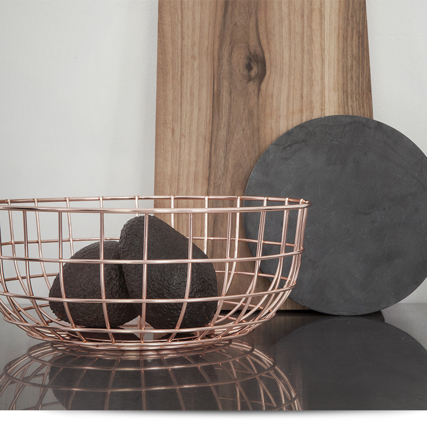 It supports Wire Bowl wire bowl menu menu Norm Nome basket / kitchen /  storing / North Europe / wire bottle convenience store receipt