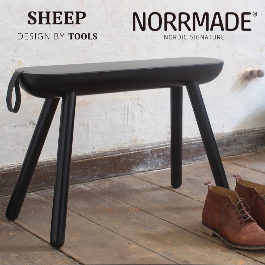 NORRMADE/ノルメイド SHEEP/シープ スツール椅子/玄関/ベンチ/デンマーク