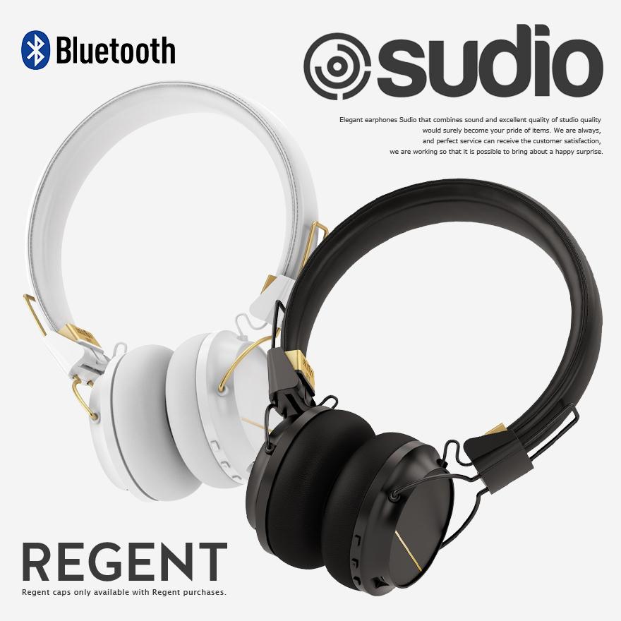 Sudio スーディオ REGENT レジェント リージェント オンイヤー型BluetoothヘッドフォンBluetooth対応/ヘッドフォン/オンイヤー型/密閉型/ヘッドセット【コンビニ受取対応商品】