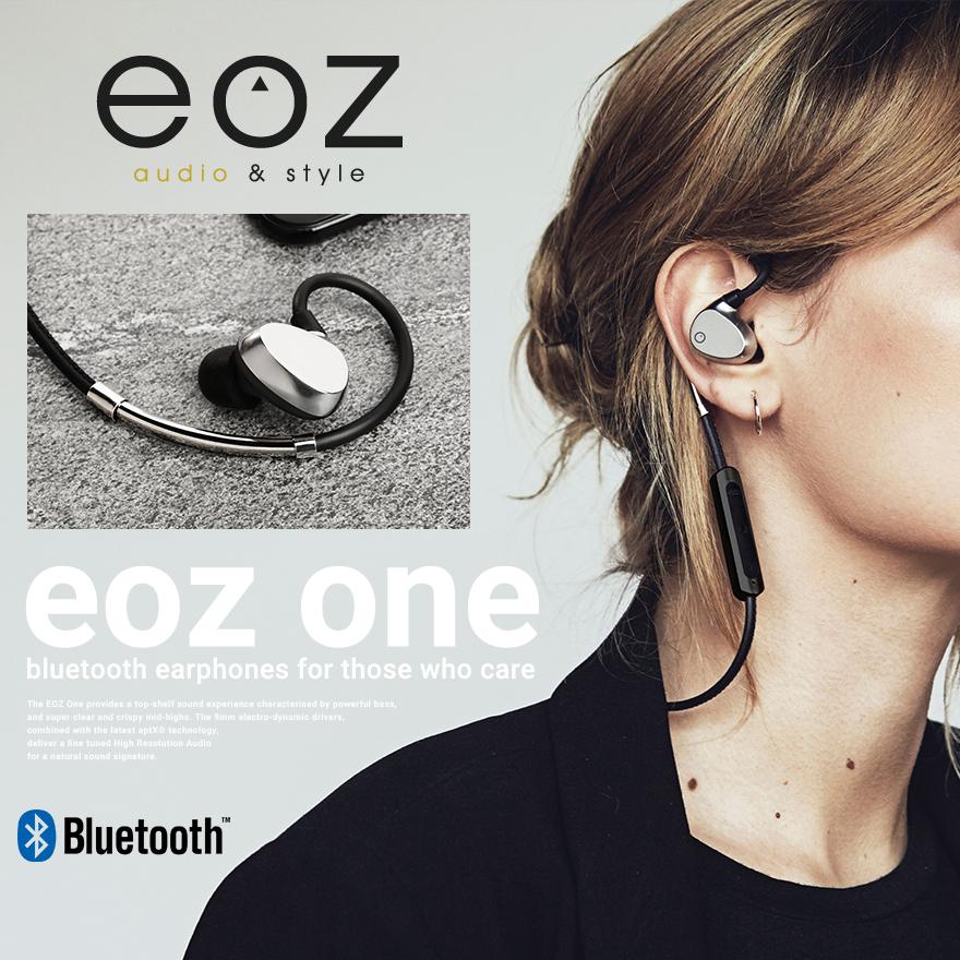 【EOZ】EOZ One イオーズワン Bluetooth イヤフォンイヤホンBluetooth 4.1/ブルートゥース/ダイナミック型/持ち運び/通勤/通学【コンビニ受取対応商品】