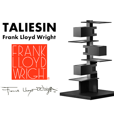 Frank Lloyd Wright TALIESIN4 Blackフランク・ロイド・ライト タリアセン4 フロアランプ 照明 ライト 照明器具