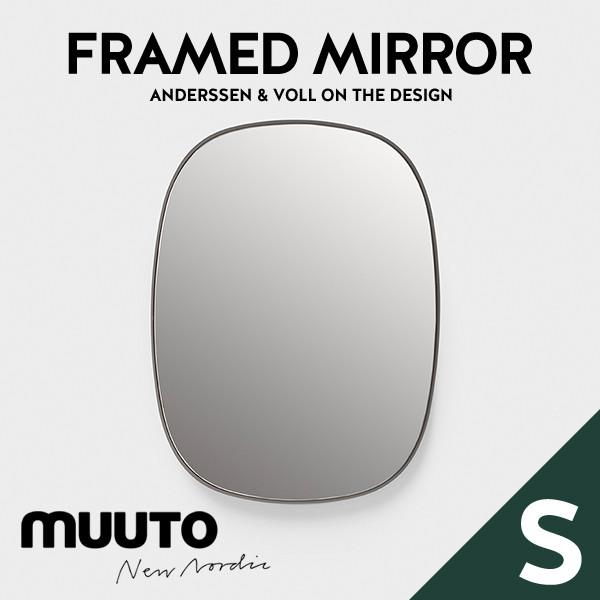 【MUUTO/ムート】Framed Mirror Small フレームミラーAnderssen&Voll/鏡/ミラー/壁掛け/北欧●