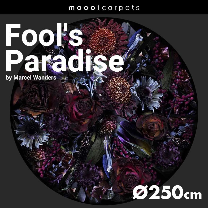 【代引不可】【moooi/モーイ】Fool's Paradise フールズパラダイス カーペット ラウンド 250cmMarcel Wanders/マルセル・ワンダース/SFAC-FP250/絨毯