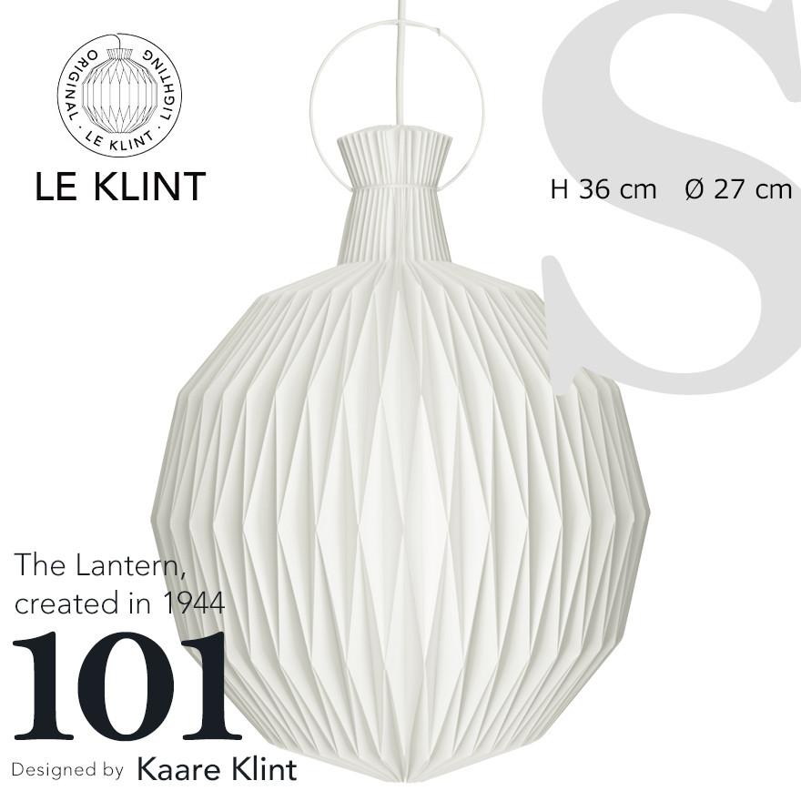 【LE KLINK レクリント】The Lantern 101 ザランタン SMALL normalコーアクリント ペンダントライト 照明 天井照明 デザイナーズ Kaare Klint デンマーク 北欧 ハンドクラフト