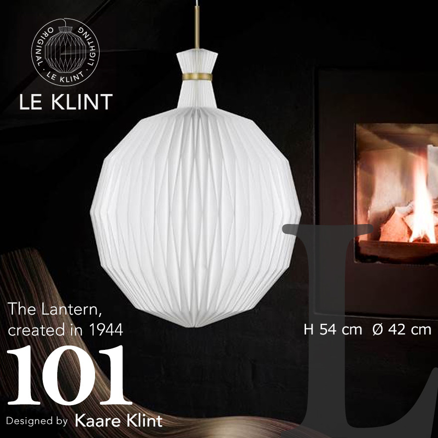 【LE KLINT レクリント】The Lantern 101 ザランタン LARGE special hang-upコーアクリント ペンダントライト 照明 天井照明 デザイナーズ Kaare Klint デンマーク 北欧 ハンドクラフト 受注生産品