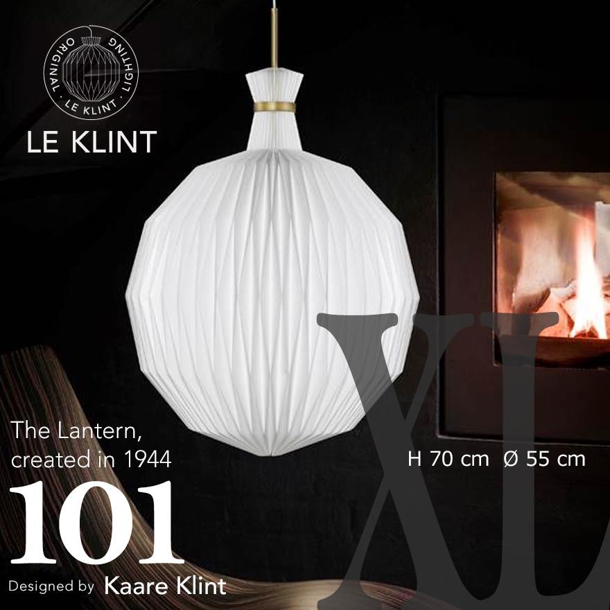 【LE KLINT レクリント】The Lantern 101 ザランタン X-LARGE special hang-upコーアクリント ペンダントライト 照明 天井照明 デザイナーズ Kaare Klint デンマーク 北欧 ハンドクラフト【代引き不可】