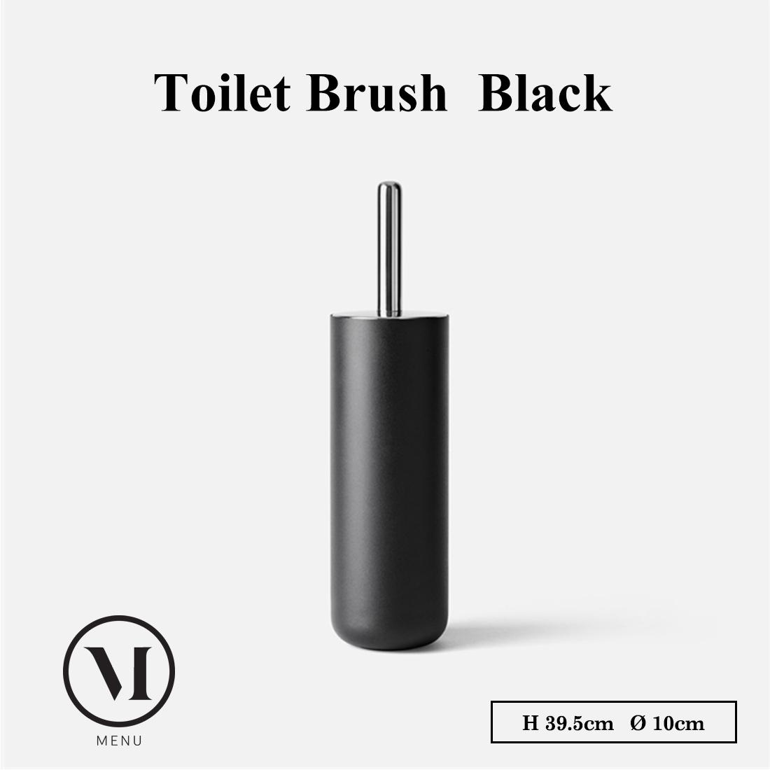 【menu】トイレブラシ ブラック 7700559 メニュー トイレ  Toilet Brush 掃除 【コンビニ受取対応商品】