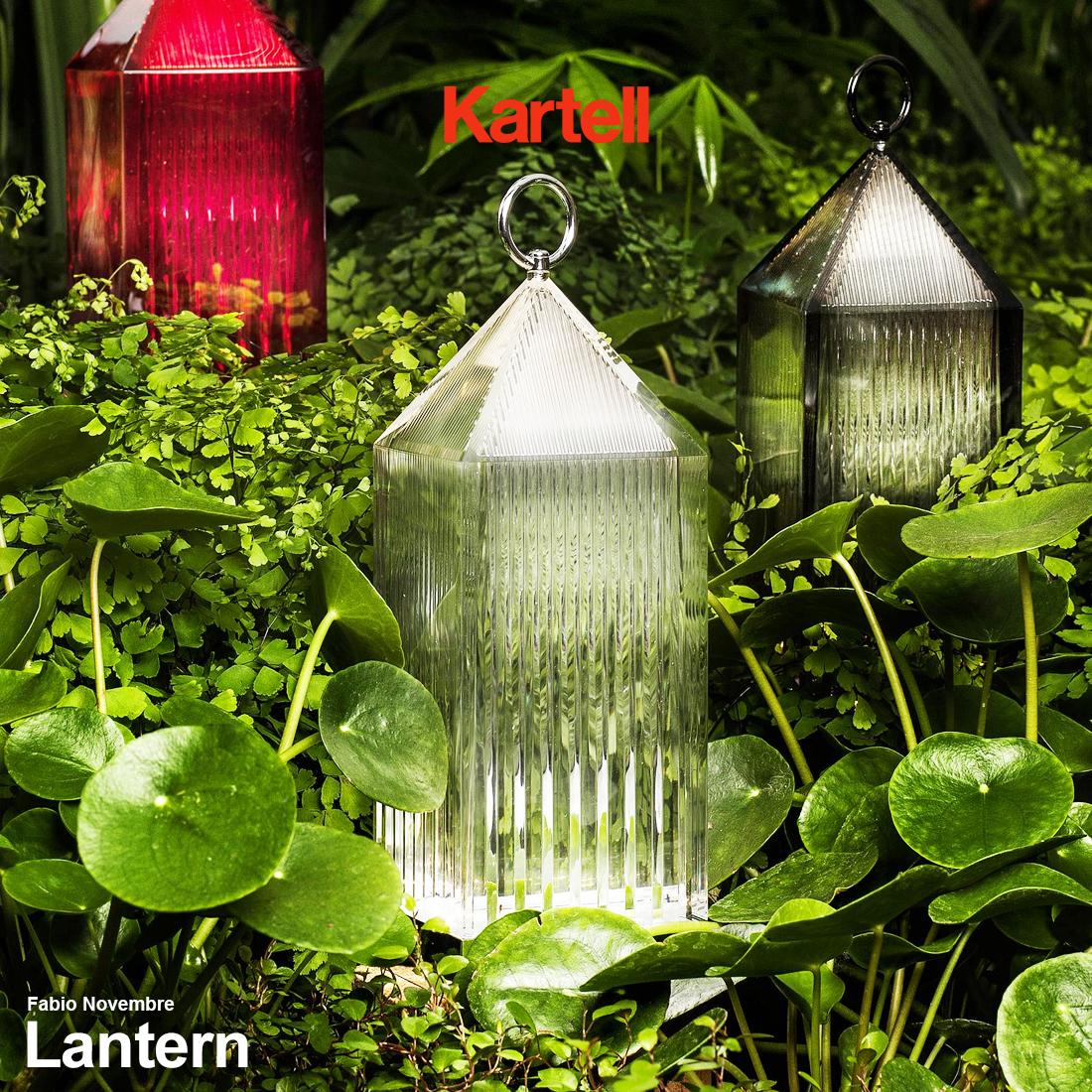 【kartell/カルテル】Lantern/ランタン テーブルランプバッテリー充電型/LED/アウトドア/シンプル/ライト/照明