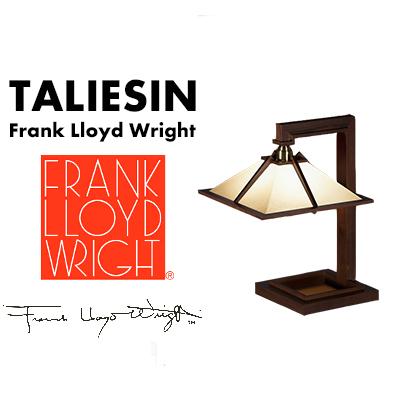 Frank Lloyd Wright TALIESIN1 MINI Walnutフランク・ロイド・ライト タリアセン1 ミニ ーブルスタンド 照明 ライト 照明器具